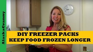 Make Ice Packs To Keep Food Cold