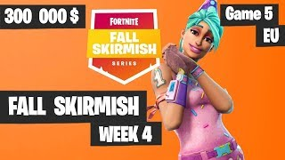 Fortnite Fall Skirmish Week 4 Game 5 EU Highlights (Group 1) - Big Bonus