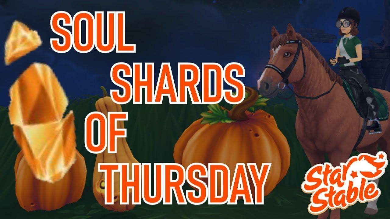 Sso Halloween Ghost Shards 2020 SOUL SHARDS OF THURSDAY (HALLOWEEN 2019) | Star Stable   YouTube