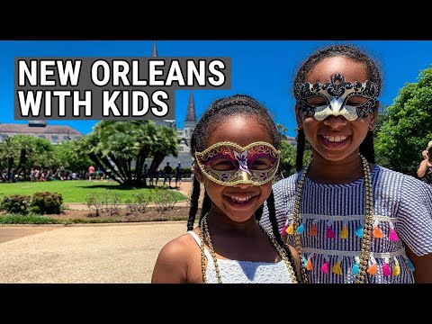 New Orleans Travel With Kids: A 2019 New Orleans Travel Vlog