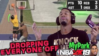 NBA 2K19 MyPark - TAKEOVER EVERY GAME! #2