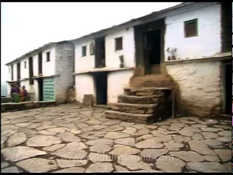 The Village of Lakhat in Garhwal District of Uttarakhand, India.
