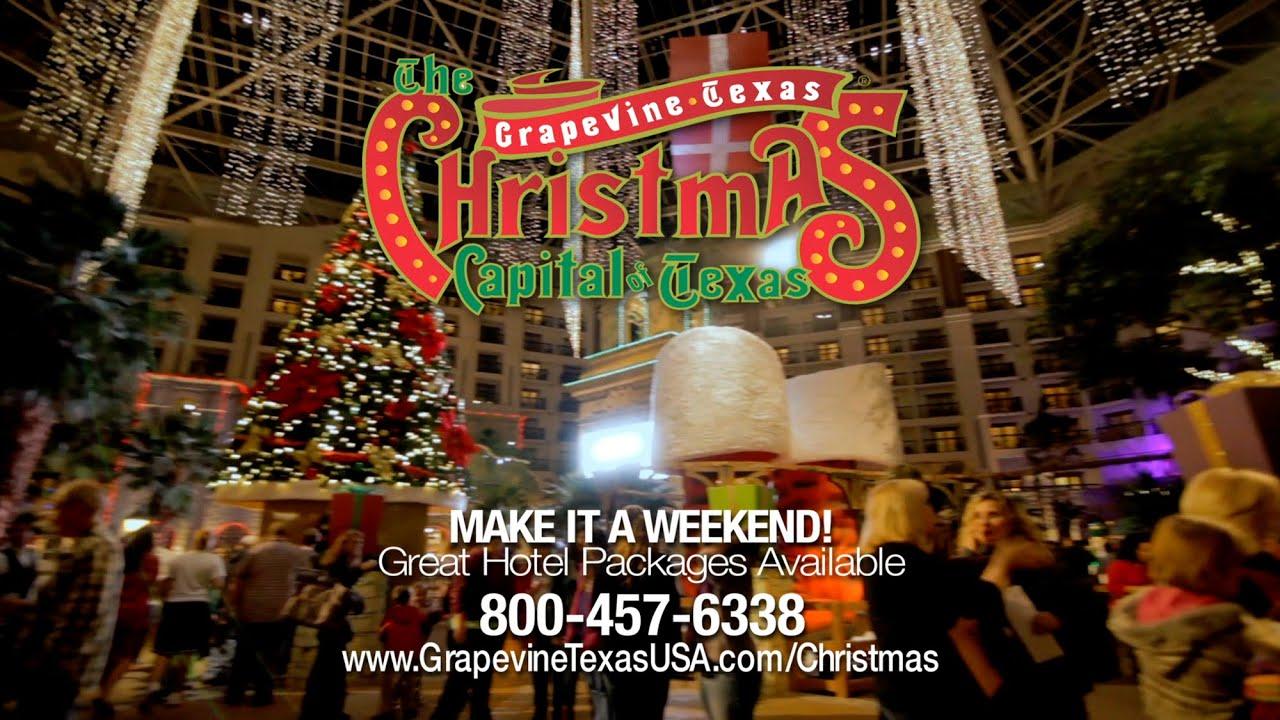 The Christmas Capital of Texas: Grapevine Texas 2015 - YouTube