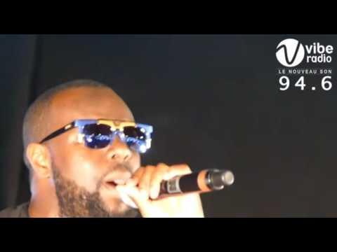 Entrée Maitre Gims lors de son concert Abidjan