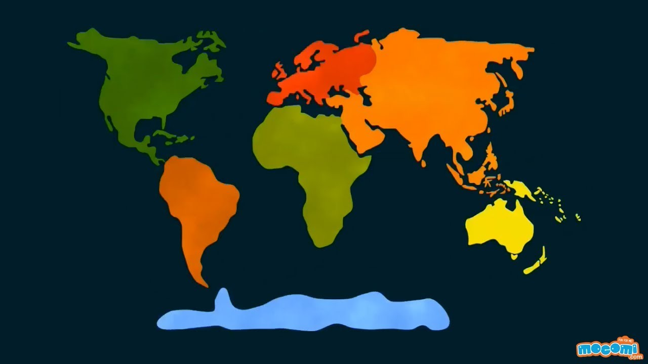 7 Continents of the World - Geography for Kids ...