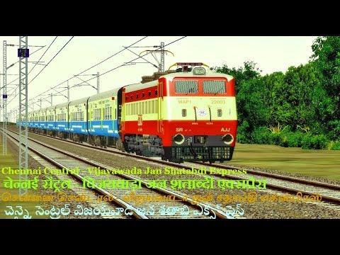 MSTS / OPEN RAILS |CHENNAI TO VIJAYAWADA | INDIAN RAILWAYS| PART 1