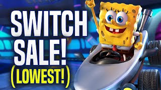 GREAT Lowest Priced Nintendo Switch Games Sale Available NOW! (eShop Deals)