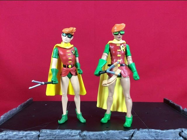 Robs Rogues 345 - Mattel DC Comics Multiverse - Robin (Carrie Kelly)