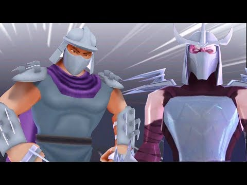 Shredder Classic VS Shredder Nick