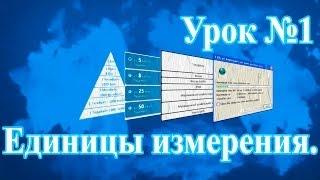 #1 Единицы измерения. Интернет-проект