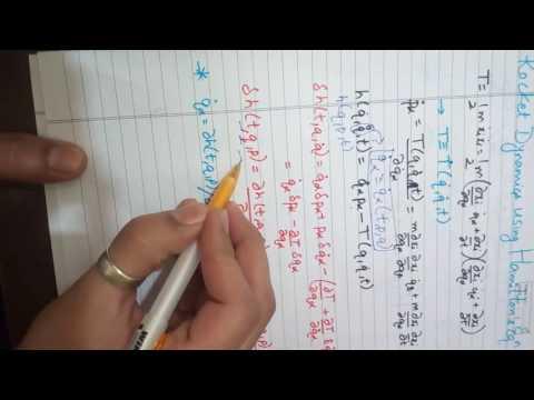 Rocket Dynamics via hamiltonian mechanics