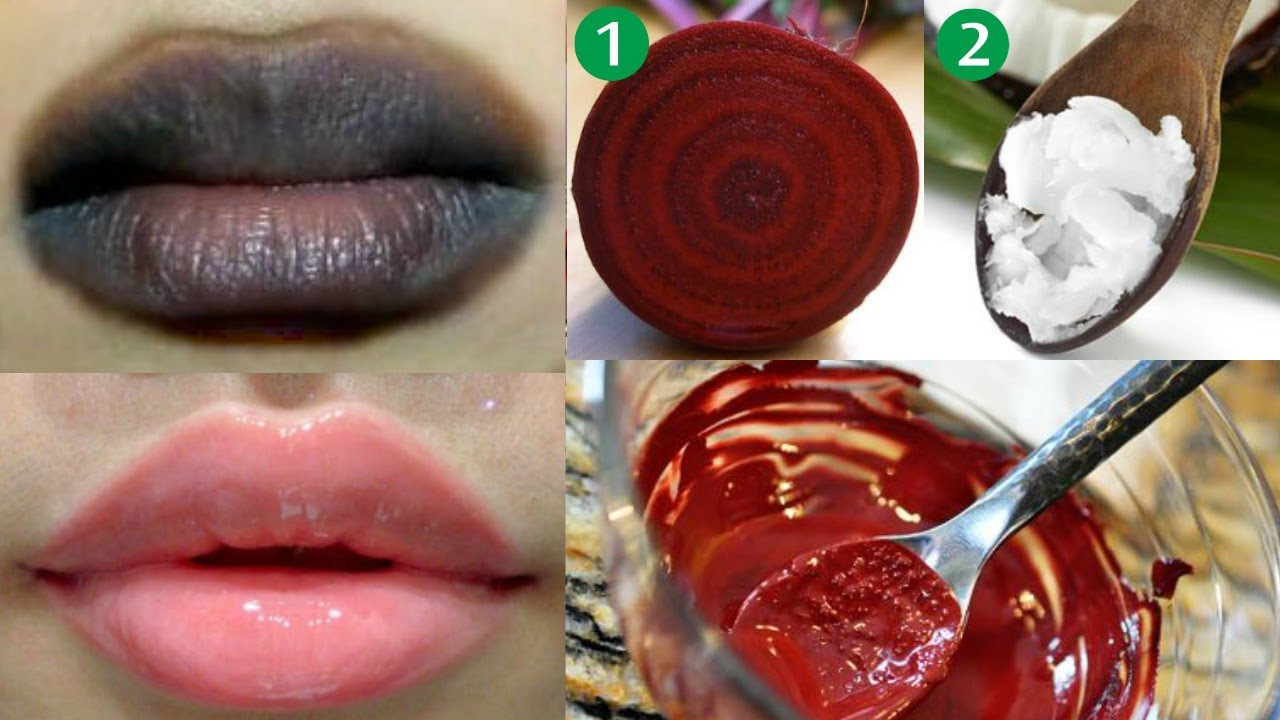 Lighten Dark Lips Naturally With Just two Ingredients- Smokers Must