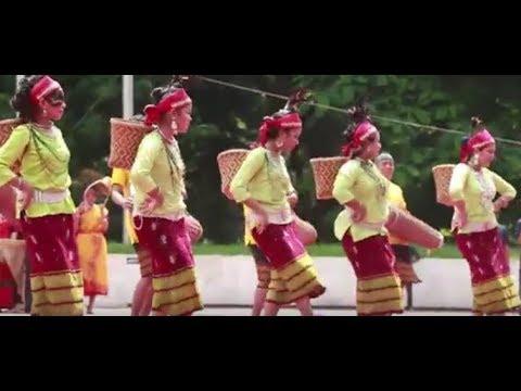 Best Garo dance… Indigenous day!