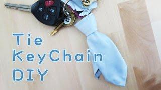 Father's Day Gift Idea   Tie Key Chain   Sunny Diy