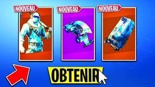 I BUY THE PACK FROID ETERNAL!!! (on fortnite battle royal)
