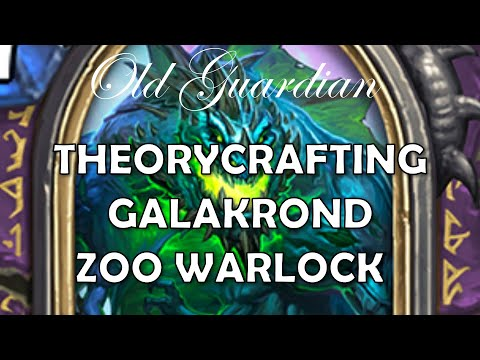 Theorycrafting Galakrond Zoo Warlock (Hearthstone Descent of Dragons)