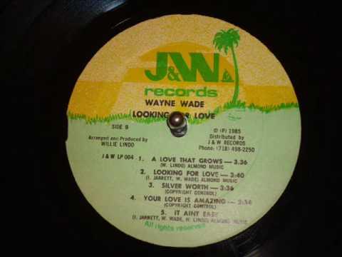 Wayne Wade Billy Red - Looking For Love LP - J&W / WKS 004 Records - DJ APR