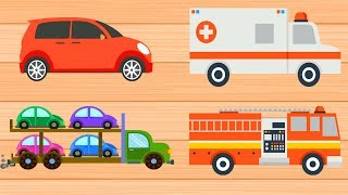 Vehicle Puzzle Game for Kids Free App from  Android Phones and Tablets