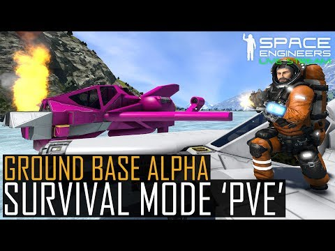 Space Engineers: UNCOOPERATIVE SURVIVAL- Alpha Base ONLINE  (Planetary Cargo Ships + Pirates + Dags)