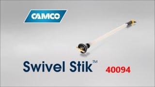 CAMCO's NEW poop tank stik, er, Rv Swivel Stik tm