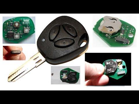 Как сделать. Ремонт ключа зажигания сигнализации приора, калина, гранта.  Ignition Key Repair