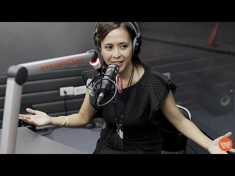 Rachel Alejandro sings Paalam Na LIVE on Wish 107.5 Bus (Behind the Camera)