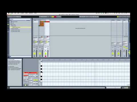 Ableton Live Quick Start - Lesson 2 - Bass
