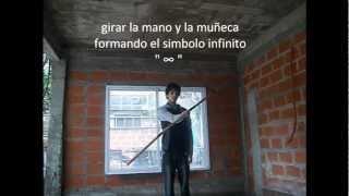 Como girar una vara con las manos |Parte1| español