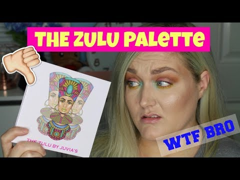 WTF HAPPENED? THE ZULU PALETTE | Swatches Demo Comparisons