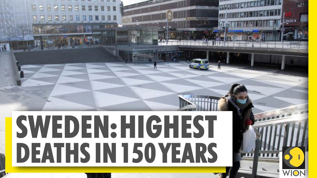 Sweden's herd immunity plan goes wrong? | 690% jump in deaths from 2019 to 2020 | World News