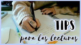 ¿Cómo hago mis lecturas y apuntes? Algunos TIPS · STUDY WITH ME #9   Christine Hug
