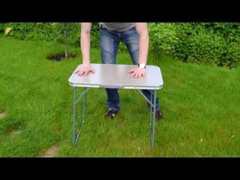 Столик складной DES-317, обзор раскладных столов