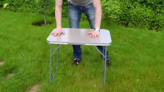 Столик складной «DES-317», обзор раскладных столов(Купить стол «DES-317» можно здесь → http://folding.com.ua/product/stolik-skladnoy-DES317 Стол складной «DES-317» – это легкий портативны..., 2016-06-01T23:27:59.000Z)