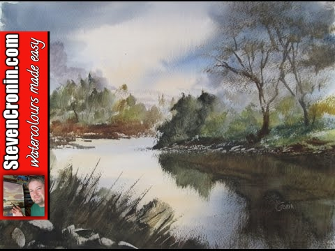 Watercolour Painting Demonstration from a Photograph