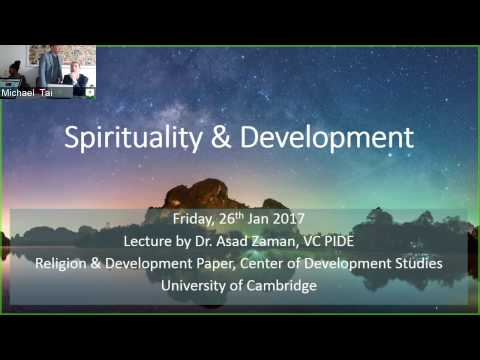 Spirituality & Development: Part 1, Spirituality