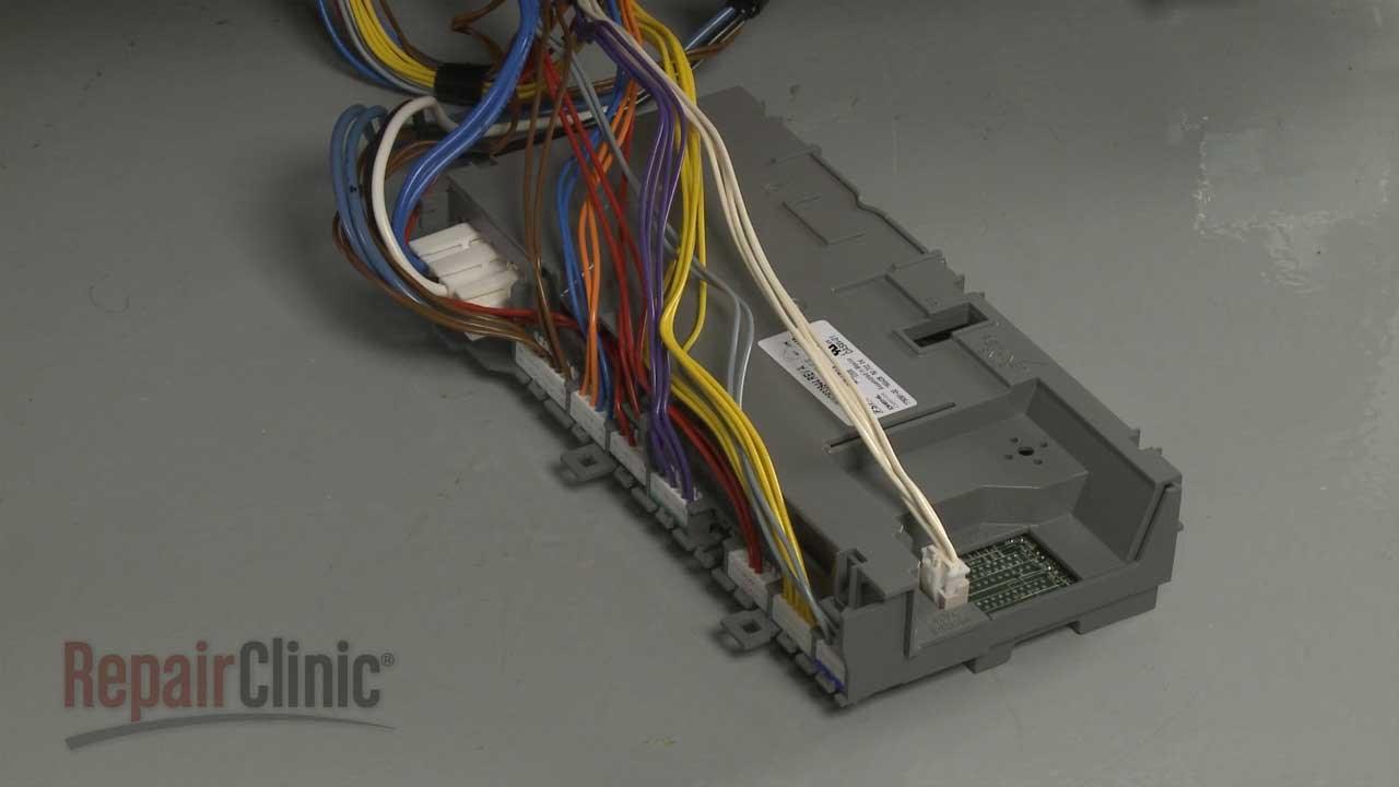 kitchenaid dishwasher control board replacement w10854228 [ 1280 x 720 Pixel ]