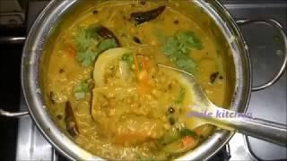 சுவையான  பச்சைப்பயிறு குழம்பு செய்வது எப்படி ?south indian green gram sambar recipe