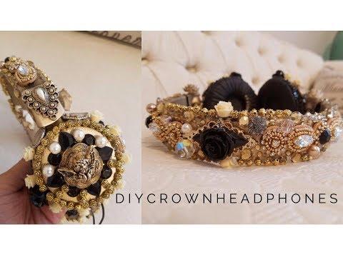DIY D&G Inspired Crown Headphones