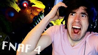 SUSTOS, INFARTOS Y MAS SUSTOS! | Five Nights at Freddy's 4 (2) - JuegaGerman