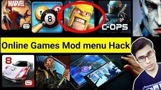 How to Hack online Games Mod menu without Root 2017
