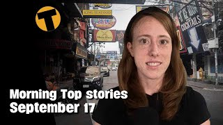 Morning Top Stories   Covid Free setting, Pattaya bars might not open   September 17  