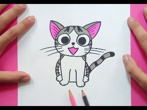 Como Dibujar Un Gato Paso A Paso 30 How To Draw A Cat 30 Youtube