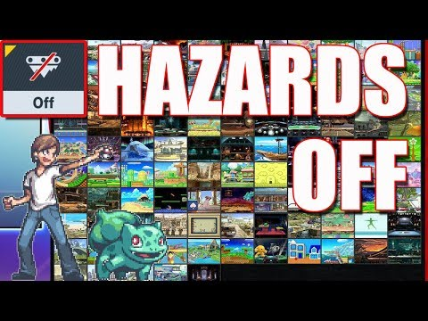 What Does Hazards Off Do To EVERY Stage?! - Super Smash Bros Ultimate thumbnail