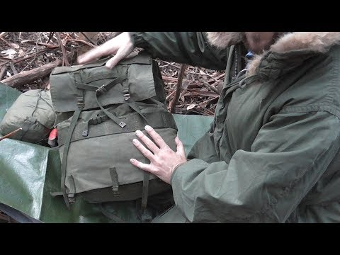 THE AUSTPACK: Vintage Australian Army Canvas Pack + Other Army Surplus