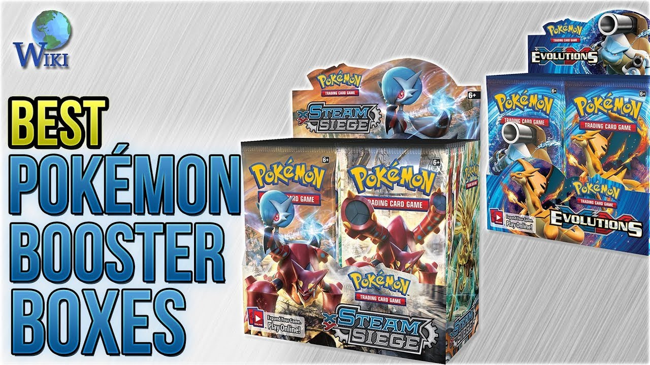 8 best pokemon booster boxes 2018 youtube. Black Bedroom Furniture Sets. Home Design Ideas