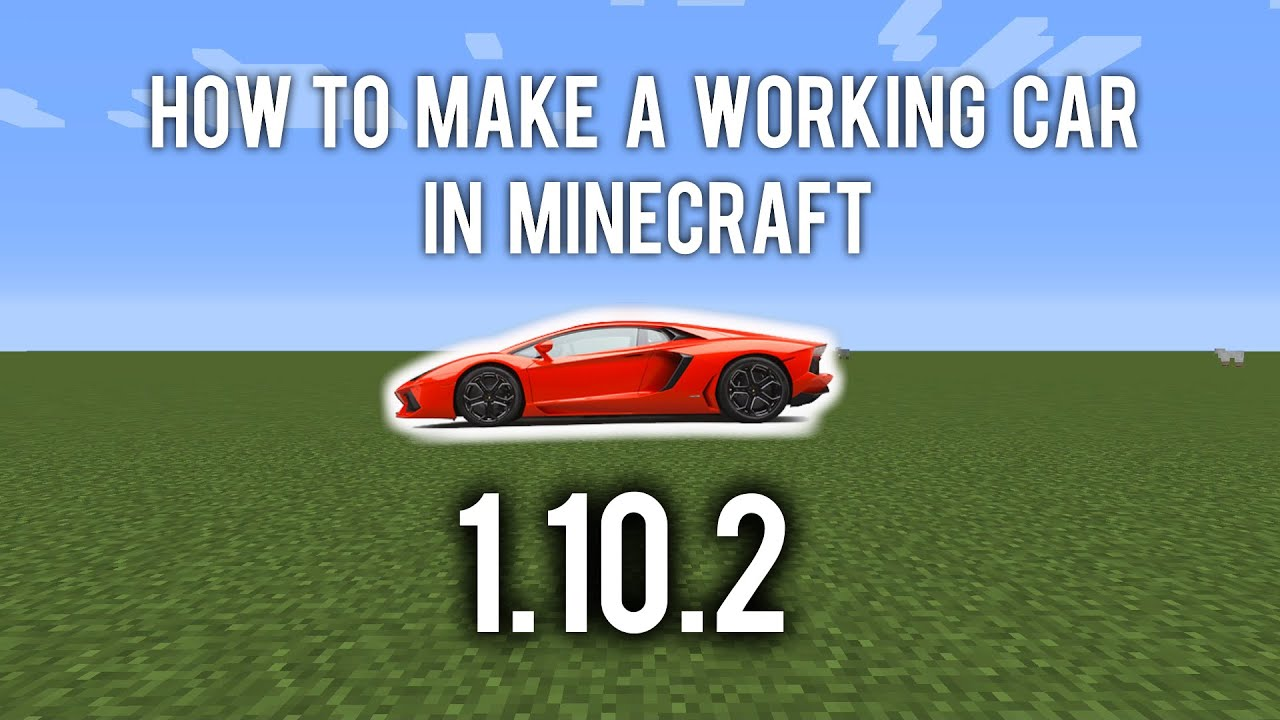 minecraft how to make a working train