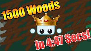 Dumbest World Record In Starve.io XD / 1500 Woods In 4:47 Mins Video