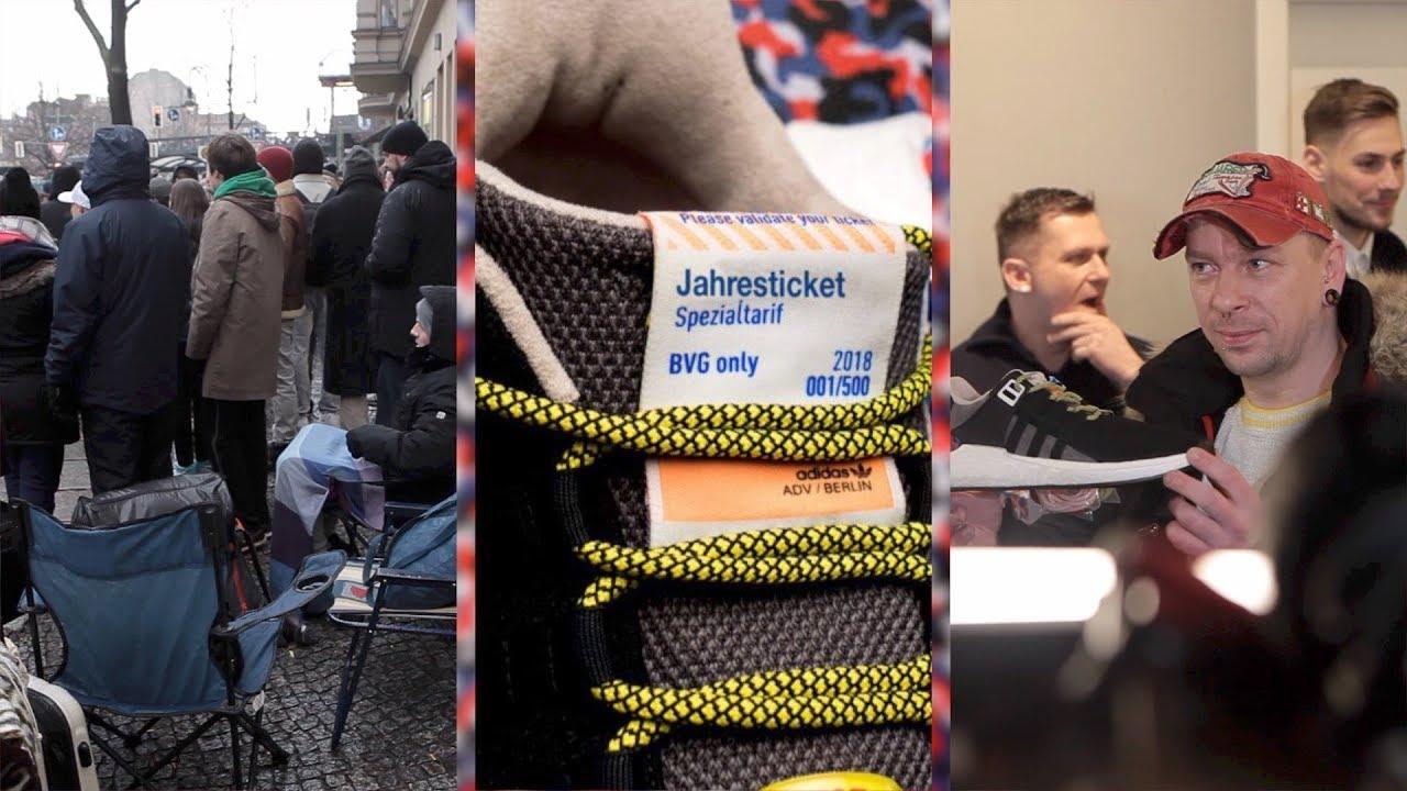 Hype um die BVG Sneaker von Adidas: Reseller wollen bis zu