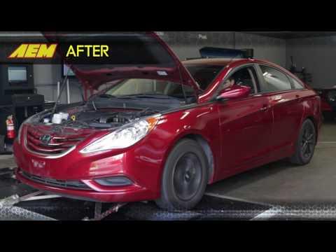 How To Install an AEM Air Intake on a 2011-2014 Hyundai Sonata / 2011-2015  Kia Optima 2.4L